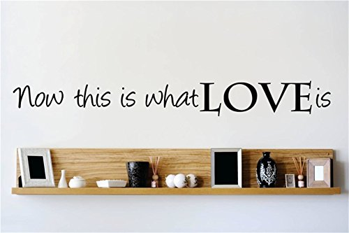 Stickers Muraux Vinyl Peel And Stick Mural Wall Sticker Decals For Room Home Now This Is What Love Is