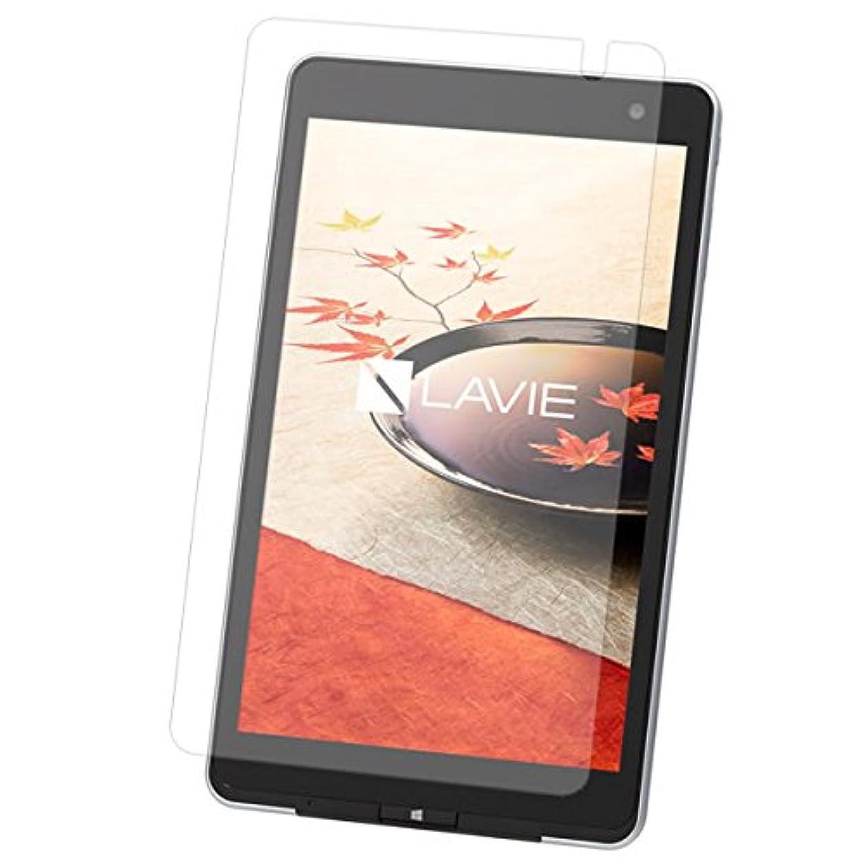 拮抗からかう仕様NEC LAVIE Tab W TW708/CAS PC-TW708CAS 8インチタブレット 用 液晶保護フィルム  防指紋(クリア)タイプ