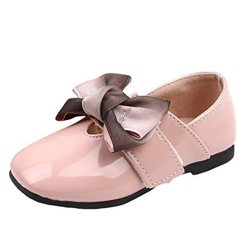 Zapatos de princesa planos para niñas con suela suave y antideslizante