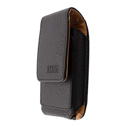 caseroxx Handy Tasche Outdoor Tasche für RugGear RG150, mit drehbarem Gürtelclip in schwarz