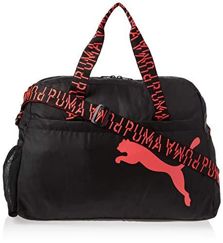 PUMA Active Training Essential Damen Henkeltasche Puma Black-Pink Alert-AOP OSFA
