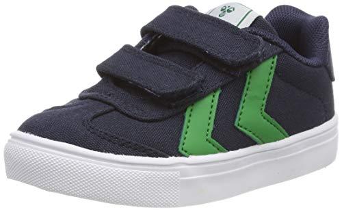 hummel Unisex-Kinder HOP JR Sneaker, Blau (Black Iris 1009), 30 EU