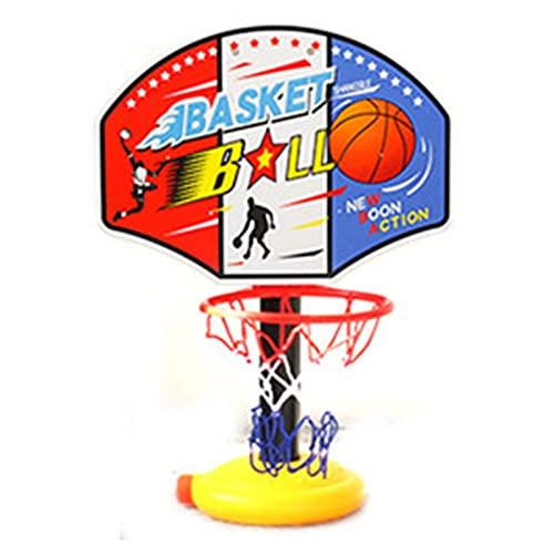 Soporte de Baloncesto portátil Soporte de Baloncesto para niños, bebé móvil portátil, Padre-niño Baloncesto Soporte de Juguete