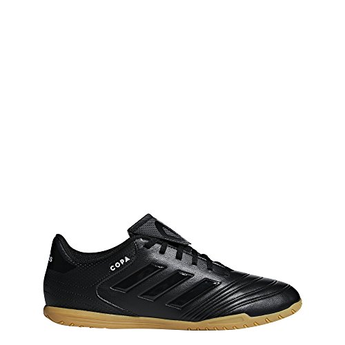 adidas Herren Copa Tango 18.4 IN Futsalschuhe, Schwarz (Negbás/Ftwbla/Negbás 000), 43 1/3 EU