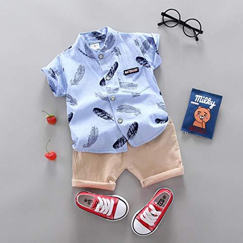 HGTZ Jongens kleding casual baby meisjes zomerkleding sportshirt + shorts kostuums kleding producten van katoen kleding voor kinderen