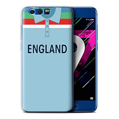 eSwish Gel TPU Hülle/Case für Huawei Honor 9 / England/Englisch Muster/Retro Cricket Weltmeisterschaft 1992 Kollektion
