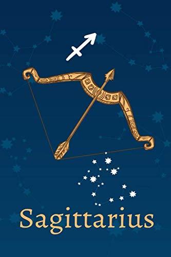 Sagittarius: Zodiac Astrology Design Journal 6x9 (Astrology Notebook & Zodiac Gifts)