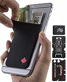Gecko Travel Tech - Kartenhalter für Smartphones - Haftendes Kartenfach - Handytasche Handy-Tasche in Kanada