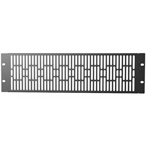 Techly I-Case AV-ABLANV3 Accesorio de Bastidor Blank Panel - Accesorio de Rack (Blank Panel, Negro, 3U, 482 mm, 7 mm, 132 mm)