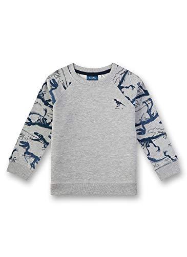 Sanetta Jungen Sweatshirt, Grau (Grey Mel. 1737), (Herstellergröße: 104)