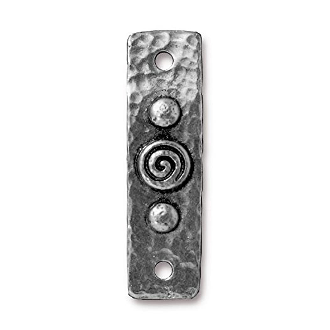 TierraCast 94-3156-40 Link Spiral and Rivet, 11x39 Antique Pewter 2-Pack