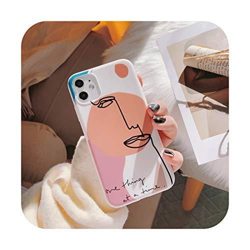 Art Retro Abstracto Geometría Teléfono Caso Para iPhone 11 Por Max X Xs Max Xr 7 7 Puls 6 6S 7 8 Puls Casos Linda Cubierta Suave De Silicona