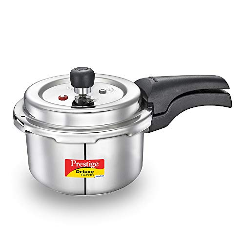 Prestige Svachh Deluxe Alpha 2.0 Litre Stainless Steel Pressure Cooker