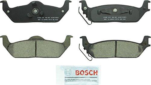 Bosch BC1012 QuietCast Premium Ceramic Disc Brake Pad Set For 2004-2011 Ford F-150 and 2006-2008 Lincoln Mark LT; Rear, 1012