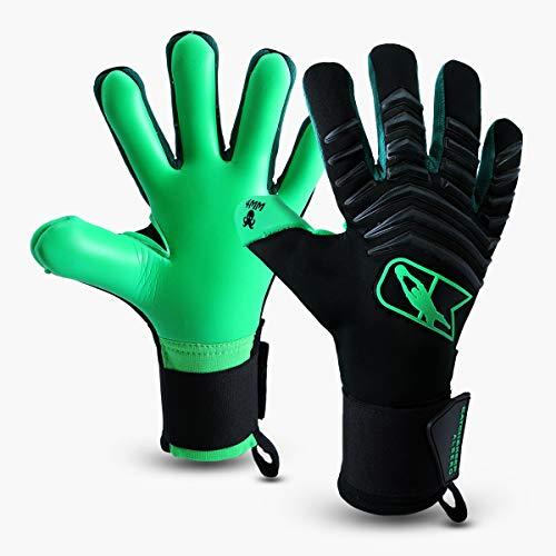 CATCH&KEEP Profi Torwarthandschuhe für Erwachsene - maximaler Grip - Premium Modell - Tormannhandschuhe Fussball - mit unserem Octopus Grip (Albero - Grün, 8)