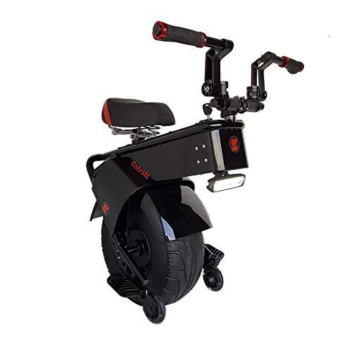 Monociclo Scooter Eléctrico Lectric Monociclo con Asiento 1500W 60V Una Rueda Auto-Equilibrio De La Motocicleta Scooter Eléctrico For Adultos De 18 Pulgadas Rueda Grande 2020