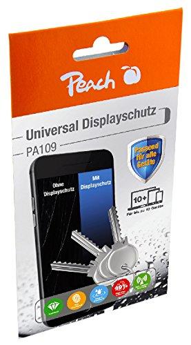 Peach universele vloeibare displaycoating, TÜV-getest, 1 set voor maximaal 10 apparaten, voor alle smartphones, tablets en smartwatches, stralenwerend, bescherming tegen krassen en nog veel meer
