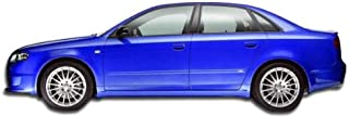 Extreme Dimensions Duraflex Replacement for 2002-2008 Audi A4 B6 B7 S4 4DR Wagon DTM Look Side Skirts Rocker Panels - 2 Piece