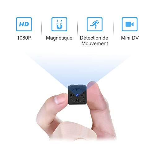 Mini Camera Espion Enregistreur,MHDYTFull HD 1080P...