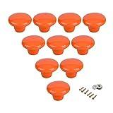 Pomelli rotondi in ceramica per armadietti e cassetti, per la camera dei bambini, per la camera da letto o l'armadio, 10 pezzi