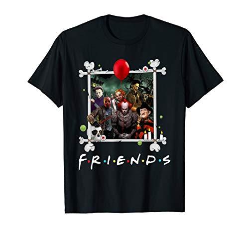 Scary Halloween Friends T-Shirt