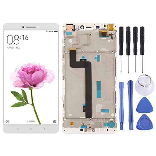 De Galen Accesorios Kits Reemplazo LCD Para Xiaomi Pantalla LCD Y Digitalizador Asamblea Completa Con Marco Para Xiaomi Mi Max Reemplazo