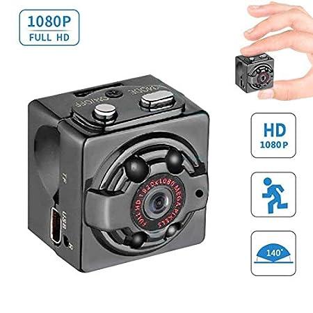 【6/14まで】Q-Yuan 超小型カメラ 1080P 暗視機能 動体検知搭載 1,548円送料無料!【日本語説明書付きません】