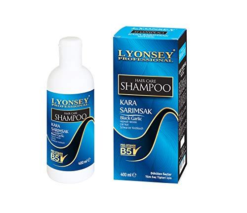 SCHWARZE KNOBLAUCH Shampoo - BLACK GARLIC SHAMPOO - KARA SARIMSAK Şampuan - 400ml gegen intensiven Haarausfall Wunder Shampoo