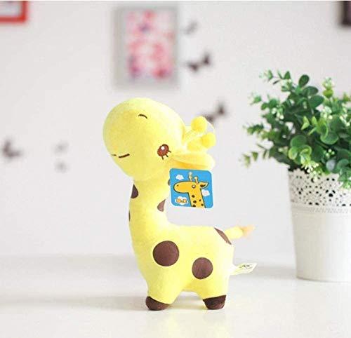 18 cm / 25 cm Leuke Giraf Knuffel Hanger Zachte Herten Gevulde Tekenfilm Dieren Pop Baby Kinderspeelgoed Kerst Verjaardag 18 cm