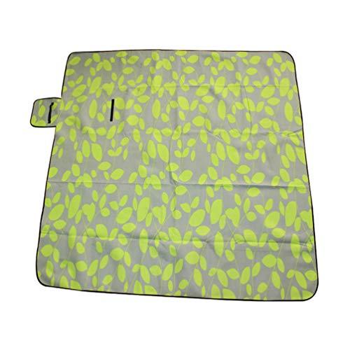 Sentaoa Couvertures Tapis de Plage sans Stress sans Sable Portable Grand Format Pliable pour Camping Voyage 200 * 300cm