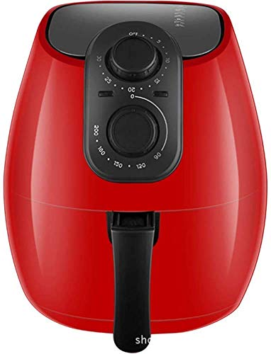 Aire freidora pantalla táctil con 8 Cocinar predefinidos y airfryer Cookbook -2.6 litros de gran capacidad, Púrpura, Rojo hsvbkwm (Color : Red)
