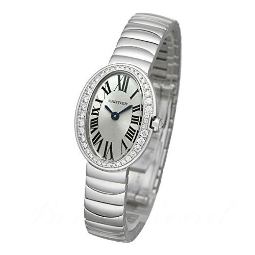 カルティエ Cartier ミニベニュワール WB520025 シルバー文字盤 腕時計 レディース (W202346) [並行輸入品]