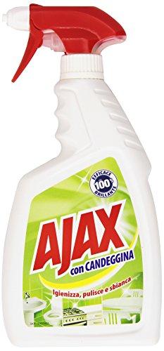 Ajax Spray con Candeggina, 750 ml