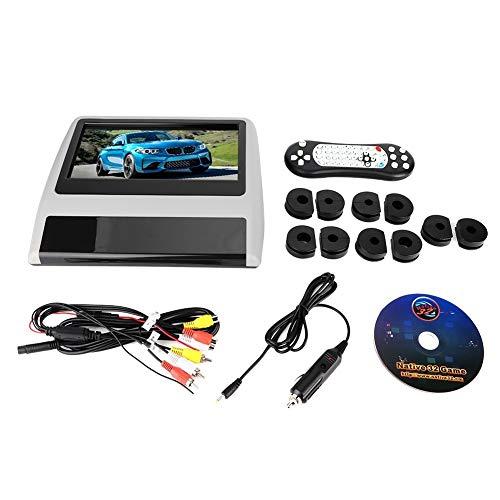 KSTE 9 inch DVD-speler in de hoofdsteun LCD Mount HD externe monitor digitaal met HDMI