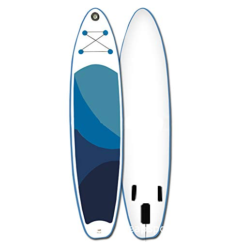 QIANG Tabla De Paddle Surf Inflable Sup (6 Pulgadas De Grosor 30 Pulgadas De Ancho De Postura) Incluye Paleta Convertible Mochila De Viaje Y Más