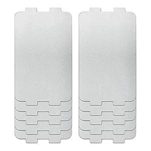 ZZSSHENG 10pcs Four Micro-Ondes Feuille D'aluminium, Feuilles De Remplacement du Couvercle De Couverture Haute qualité