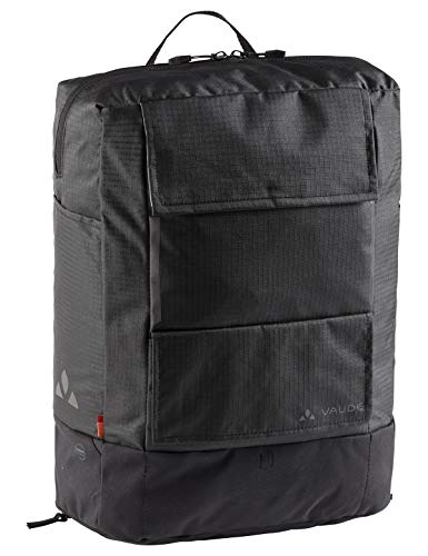 VAUDE  Hinterradtaschen Cyclist Pack Waxed, black, one Size, 14362
