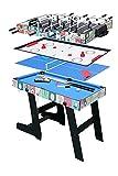 hj Table Pliable Multi Jeux 4 en 1 Pliante...