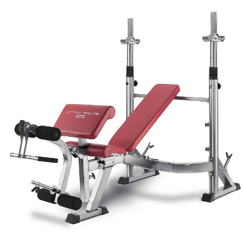 BH Fitness OPTIMA PRESS G330 - Panca multifunzione, Reclinabile, Con cavalletto per bilanciere