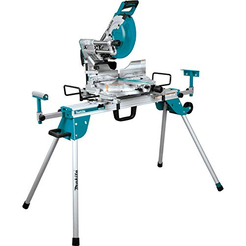"""Makita LS1219LX 12"""" Dual-Bevel Sliding Compound Miter Saw with Laser and Stand"""