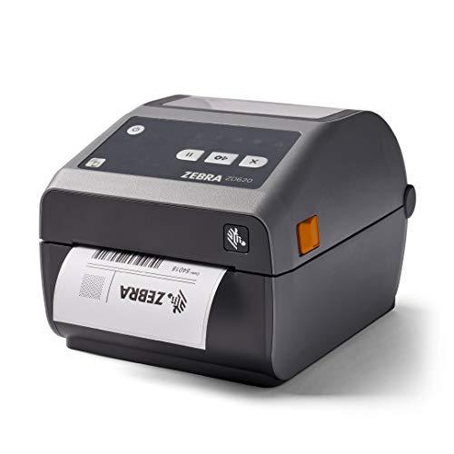 Zebra ZD620d Direct Thermal Desktop Printer 203 dpi Print Width 4 in WiFi Bluetooth Ethernet Serial USB ZD62042-D01L01EZ
