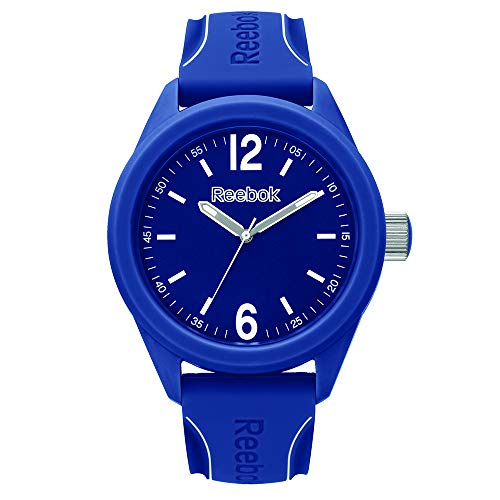 REEBOK Herren Analog Quarz Uhr mit Silikon Armband RF-SDS-G2-PNIN-NW