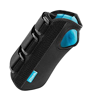 """Ossur Formfit Wrist Brace for Treatment of Tendonitis - Wrist Immobilization, Breathable Material, Contact Closure Straps & Customizable Stays - 8"""" Version (Left, Medium)"""