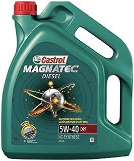 Castrol MAGNATEC Diesel Aceite de Motores 5W-40 DPF 5L (Sello alemán)