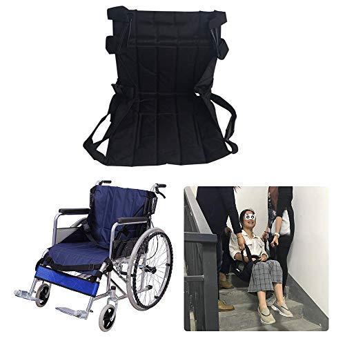 GHzzY Transfer-Gleitbrett - Notfall-Evakuierungs-Patienten-Treppenlift-Gurt - Hebeschlaufe Gleit-Transfer-Pad für Senioren und Behinderte