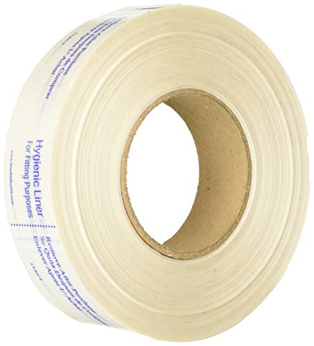 True Fit Try On Clear Knife Cut Clkc-2 Hygienic Liner for Trying On Swimsuit & Lingerie - Hygiene Product for Women's Swimwear - 1, 000Count, White