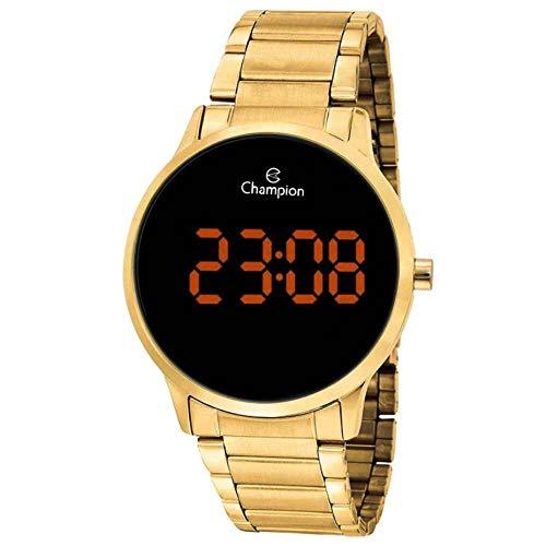 Relógio Champion Feminino Ref: Ch40142j Digital LED Dourado