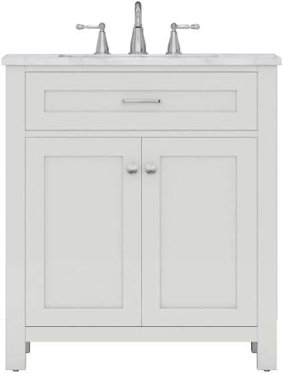 Alya Bath HE-101-30-W-CWMT Norwalk Vanity famous White Max 60% OFF Bathroom