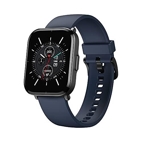 Reloj inteligente para Mibro Color, pantalla táctil HD de 1,57 pulgadas, reloj inteligente de fitness con pulsómetro y monitor de oxígeno, resistente al agua hasta 5 ATM, reloj deportivo (azul)