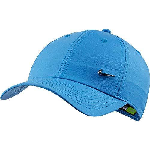 Nike U Nk H86 Cap Metal Swoosh Hat, Unisex Adulto, Pacific Blue, MISC